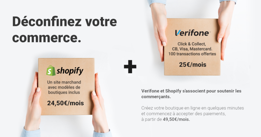 Offre Shopify